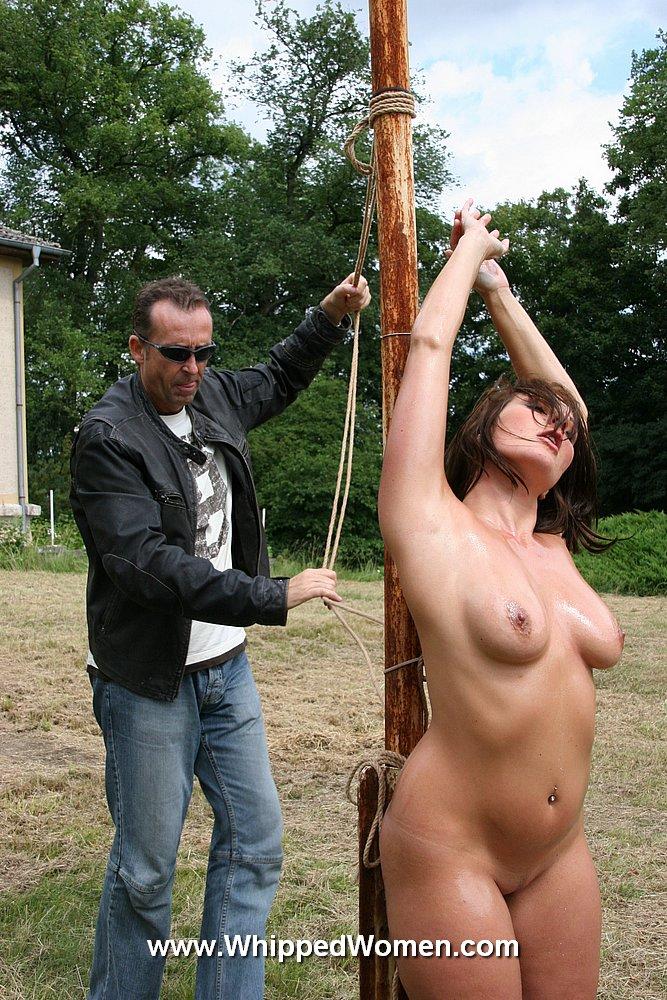 Porn clip naked whip outside